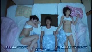 Jepang Tidur dengan dua kakak tiri cantik Durasi panjang